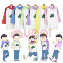 Mr Osomatsu San 2rd Season Hoodie Hooded Sweater Cosplay Costume Shirt W... - $24.99
