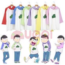 Mr Osomatsu San 2rd Season Hoodie Hooded Sweater Cosplay Costume Shirt Women Men - $24.99