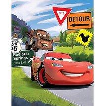 Disney Cars Back Road 60x80 Plush Mink Style Blanket - €35,13 EUR