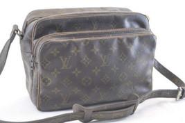 LOUIS VUITTON Monogram Nile Shoulder Bag M45244 Old Model Auth yy231 - $130.00