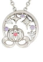 Disney Cinderella pumpkin carriage motif Silver 925 Necklace wiht origin... - $161.37