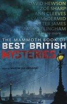 The Mammoth Book of Best British Mysteries 9 Jakubowski, Maxim - $113.38