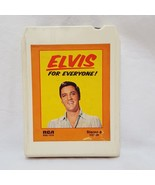 Elvis Presley for Everyone 8 Track Cartridge Tape RCA P8S 1078 - $9.99