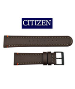 Genuine Citizen  BROWN Leather watch band Strap 22mm BM6995-19E - $44.95