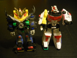 """(2) BANDAI 7"""" Transformers Action Figure Moving Arms 2003 & 2004 Made in... - $24.27"""