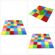 Puzzle Exercise Play Mat EVA Foam Interlocking Tiles for Kids  - $34.43