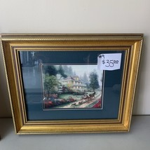 "2002 ""Sunday at Apple Hill"" Thomas Kincaid Framed print - $35.00"