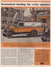 Orig Vintage Magazine Ad / 1931 Ford Truck Ad - $13.00