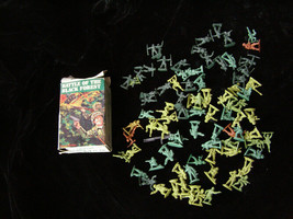 Battle For The Black Forest Play Set Figures 1 Inch Size 1960s - $16.49