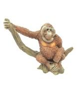 "1990 Castagna Monkey Gorilla Sitting on a Tree Branch 6 1/4""L x 5 1/4""H ... - $37.95"