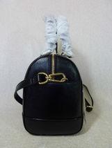 NWT Tory Burch Classic Black Saffiano Robinson Middy Satchel + Wallet $800 image 4