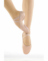 So Danca BA17 Women/'s Size 5M Fits 6.5 Pink Leather Split Sole Ballet Shoe