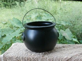 General Foam Plastics Black Cauldron Bucket USA Made Halloween Blow Mold - £15.04 GBP