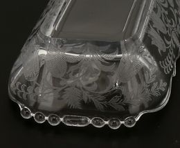 "Tiffin Fuchsia Elegant Glass Bowl 10 1/2"" Oblong Celery image 5"