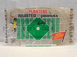 Vintage 1960's/70's Planters Peanut Mr Peanut Cellophane 11 Oz. Peanuts Bag - $7.95