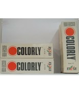 ( Itely ) It&ly Cabello Moda Colorly Coloración de ~ Original Blanco Caja ~ - $5.01