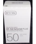Arkray  Gulcocard 01 Sensor Plus Blood Glucose Test Strips - BRAND NEW B... - $29.69