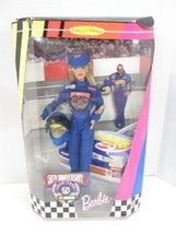 Mattel 1986 50th Anniversary Nascar Barbie doll NRFB BRAND NEW! - $14.80