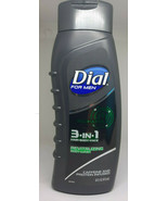 Dial For Men 3 in 1 Hair-Body-Face Caffine Protein Infused Body Wash-16 Oz. - $16.78