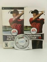 Tiger Woods PGA Tour 08 (Sony PSP, 2007) CIB, USA SELLER - $3.70