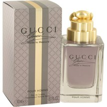 Gucci Made To Measure 3.0 Oz Eau De Toilette Cologne Spray image 4