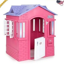 Little Tikes Princess Cottage Playhouse Kids Girls Pretend Backyard Play... - $157.93