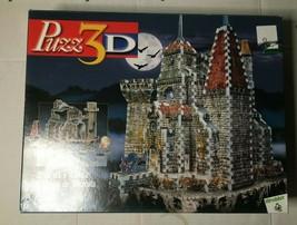 Wrebbit Puzz 3D Draculas Castle 707 Piece Puzzle 2003 - 707pc - $31.60