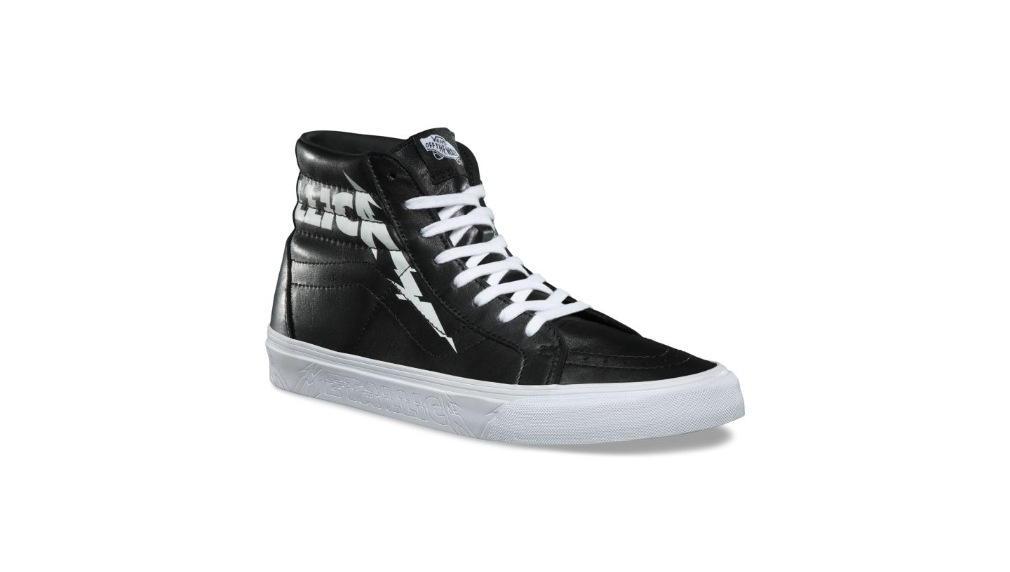 7e5a83bd0a91 New Metallica X Vans SK8-HI RE-ISSUE Size and 47 similar items