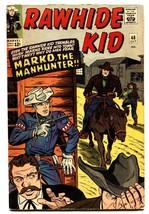 RAWHIDE KID #48-comic book MARVEL WESTERN FN- - $31.53