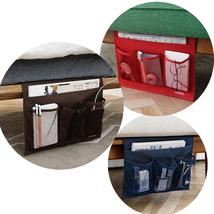 Novelty Home Bedside Pocket Bed Organizer Hanging Bag Phone Holder Book ... - $21.73 CAD