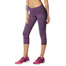 Zumba Fitness Women's So Bootyful Capri Leggings, Berry Nice, Extra Small - $14.84