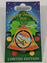 Disney Pin Trading Holiday Bell Collection 2019 Vero Beach Donald Duck L... - $15.83
