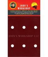 HICO HPT-100 - 1/4 Sheet - 600 Grit - Pre-Punched - 5 Sandpaper Bundle - $7.49