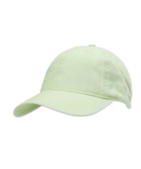 Time And Tru Women's Solid Washed Baseball Cap Hat Mint Green New - $11.38