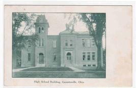 High School Garrettsville Ohio 1910c postcard - $6.44