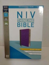 NIV Thinline Bible Giant Print - $33.66
