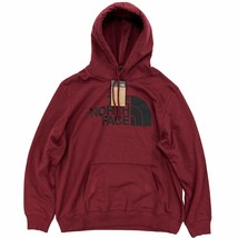 The North Face Men's Half Dome Pullover Hoodie Pomegranate Red Standard Fit - $45.99