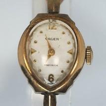 Vintage Gruen 10K RGP Mechanical Wind Ladies Wristwatch Watch - $19.79