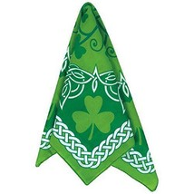 St Patrick's Day Bandana 20'' x 20'', Green - $14.95