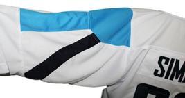 Custom Name # Team Finland Retro Hockey Jersey New Sewn White Any Size image 4