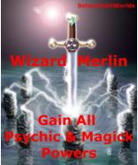Quantum Wizard Merlin All Magick Psychic Powers & BetweenAllWorlds Money... - $139.34