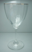 Mikasa Midas Gold Water Goblet - $15.80