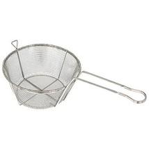 Winco FBRS-9, 9.5-Inch Wire 6-Mesh Fry Basket with Handle, Heavy-Duty Deep Fryer