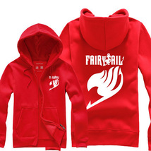 Fairy Tail Unisex Hoodies jacket Costume - $45.99