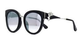 Jimmy Choo JADE/S U4T Cat Eye Women's Sunglasses Black Palladium/Grey Mirror 53 - $247.45
