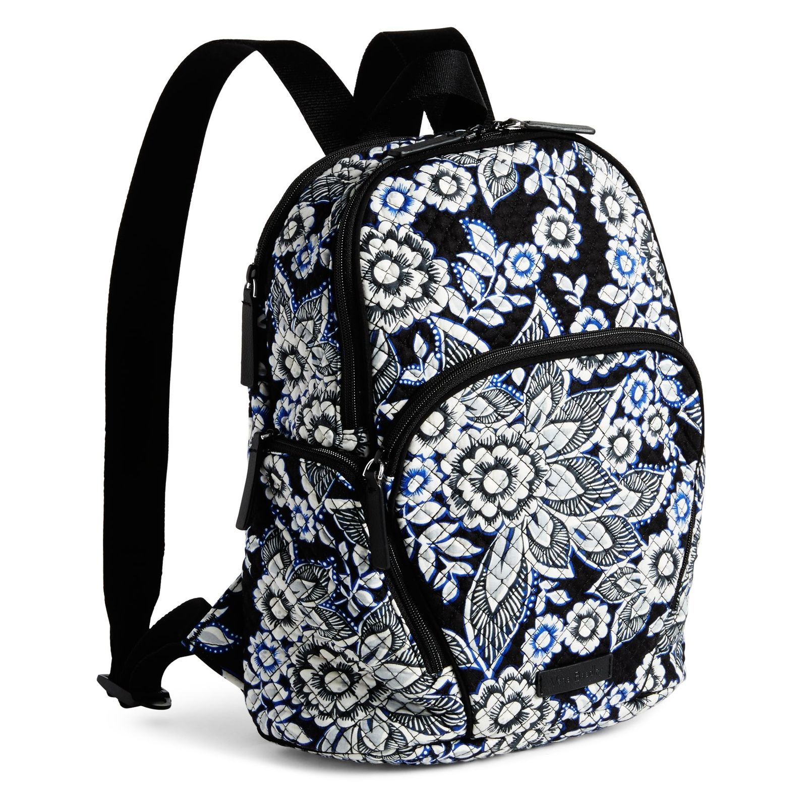 Vera Bradley Quilted Signature Cotton Hadley Backpack, Snow Lotus