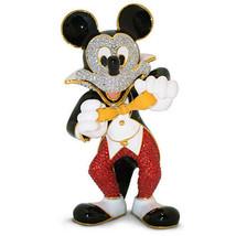 Disney Parks Mickey Tuxedo Jeweled Figurine by Arribas Brothers New with... - $658.50