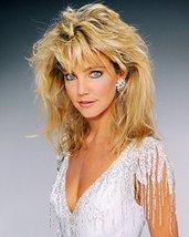 Heather Locklear Striking Studio Pose In Sequin Low Cut Top Circa 1984 - $69.99