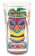 Lolita Love My Cocktail MAI TAI GLASS - Hand Painted Multi-Color Tiki Ma... - $19.64
