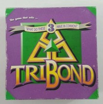 TriBond Board Game 1992 Big Fun Games  - $23.36